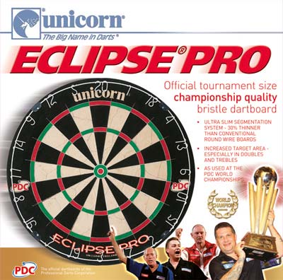 Jeu de fléchette Unicorn Eclipse Pro Packaging