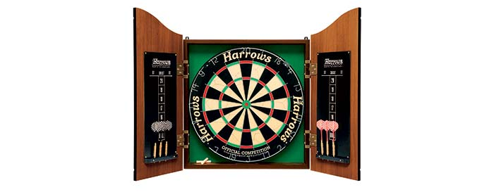 Cible fléchette bois Harrows Darts Pro's Choice