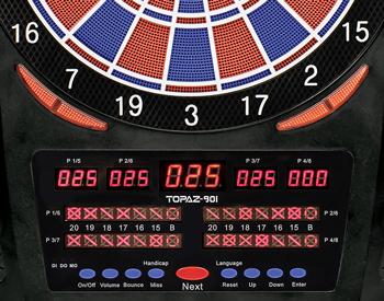 Cible électronique pro tournoi topaz