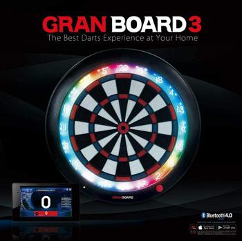 Cible de fléchette connectée Gran Board 3
